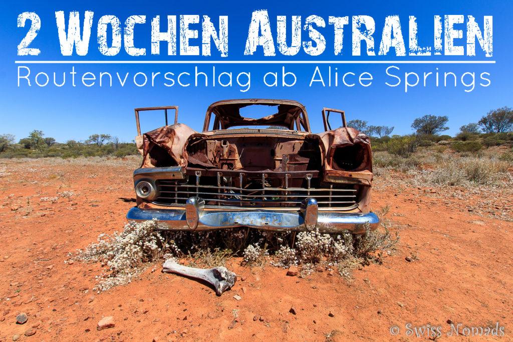 2 Wochen Australien Routenvorschlag