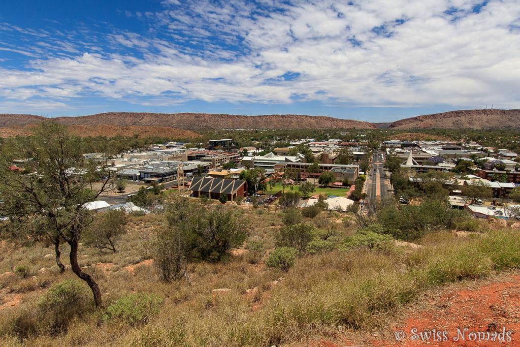 Der ANZAC Hill gehört zu den Alice Springs Sehenswürdigkeiten