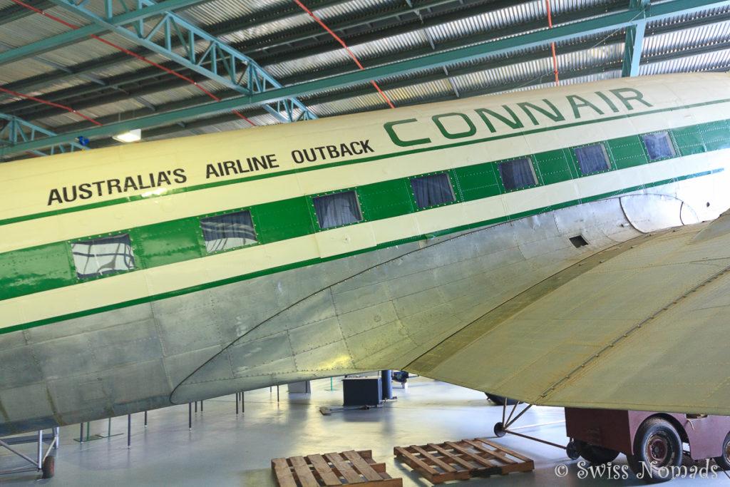 Das Central Australian Aviation Museum ist eine der Alice Springs Sehenswürdigkeiten