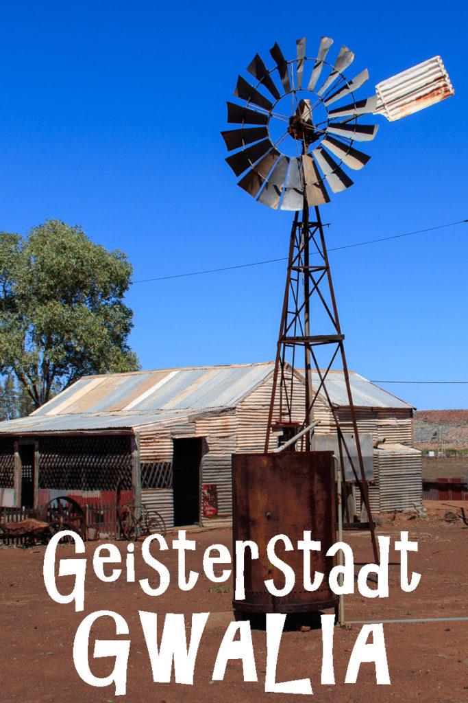 Die Geisterstadt Gwalia in Australien