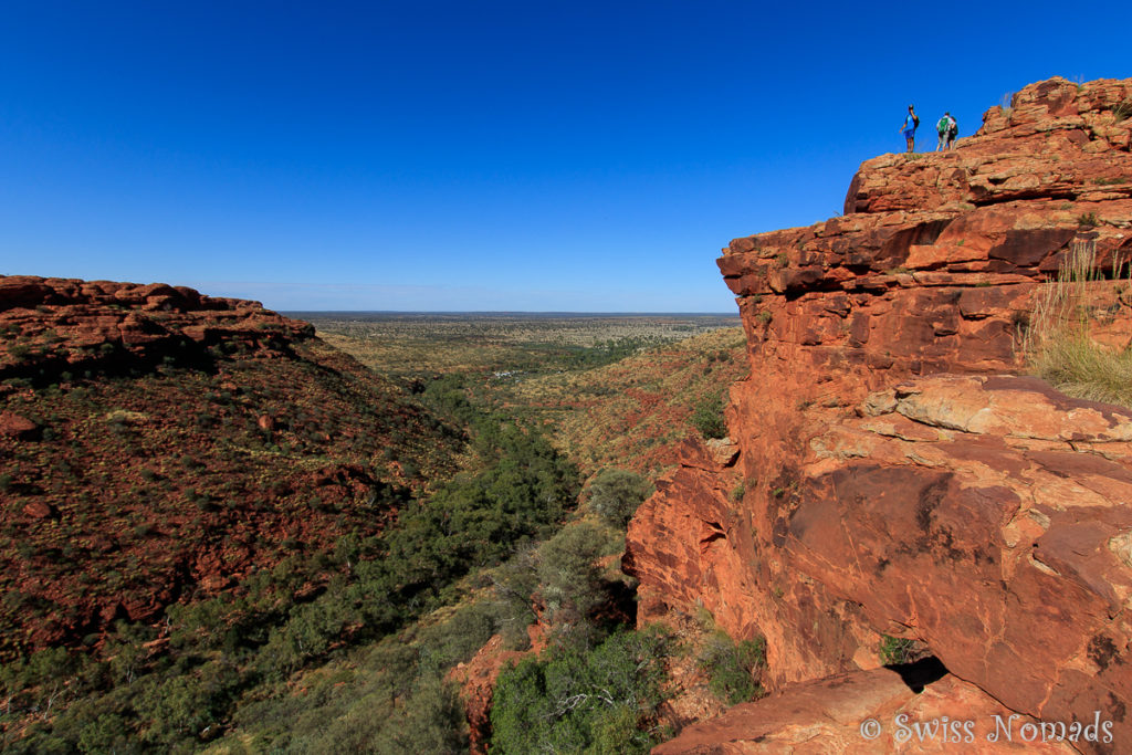 Der Kings Canyon im Watarrka Nationalpark ist ein Highlight des Red Centers in Australien