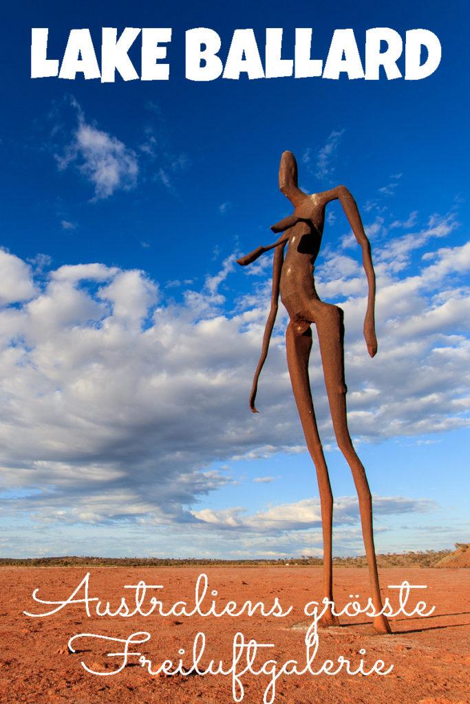 Die Skulpturen von Lake Ballard in Australien