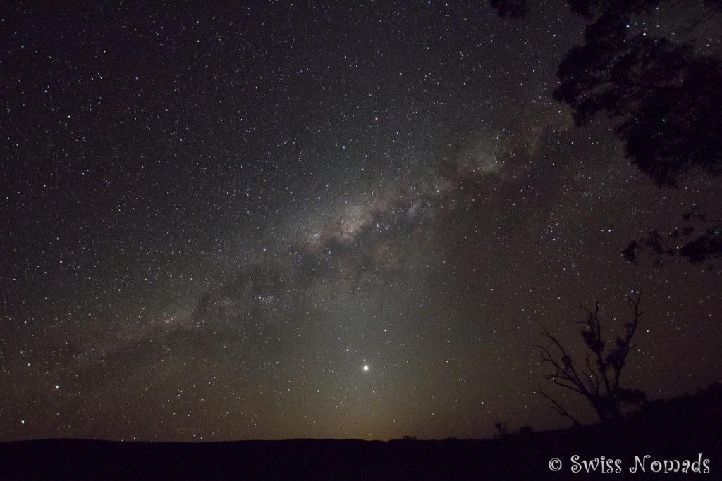 Sternenhimmel in Australien