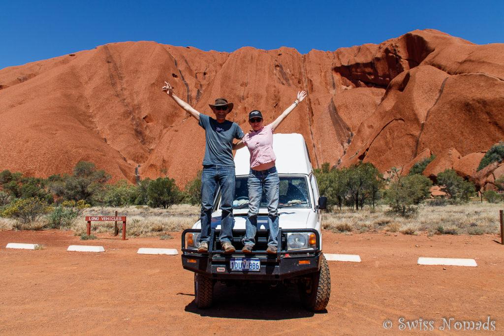 Der Uluru-Kata Tjuta Nationalpark ist ein Highlight für jeden Reisenden in Australien