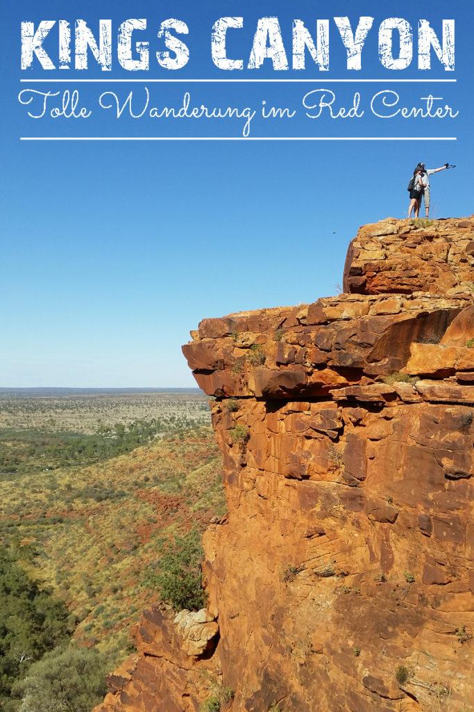 Die Wanderung beim Kings Canyon in Australien