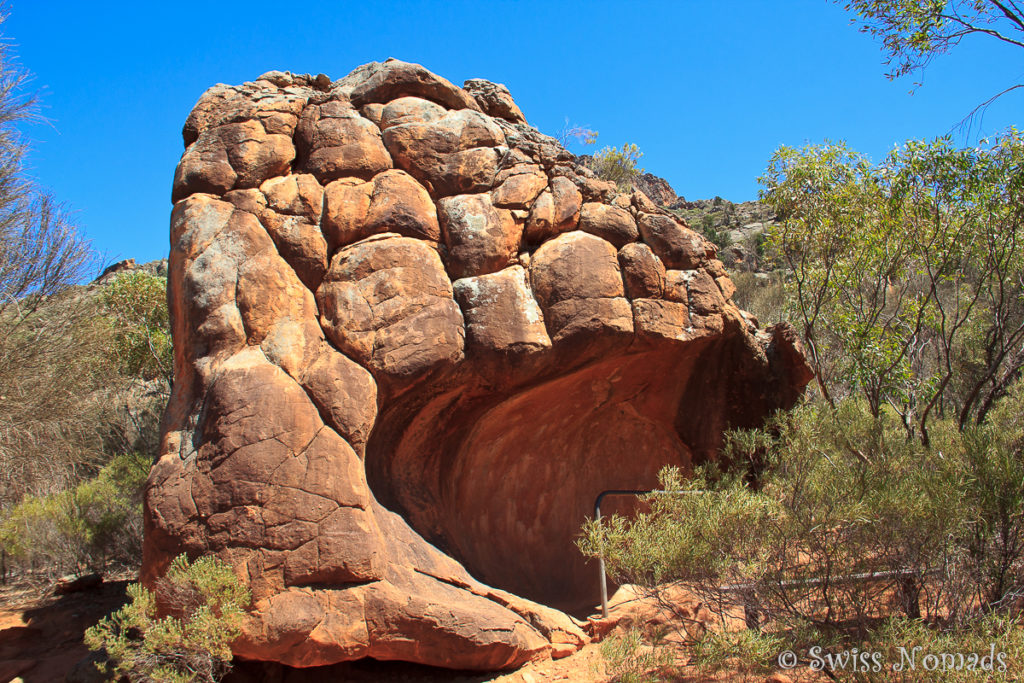 Arkaroo Rock im Ikara-Flinders Ranges Nationalpark