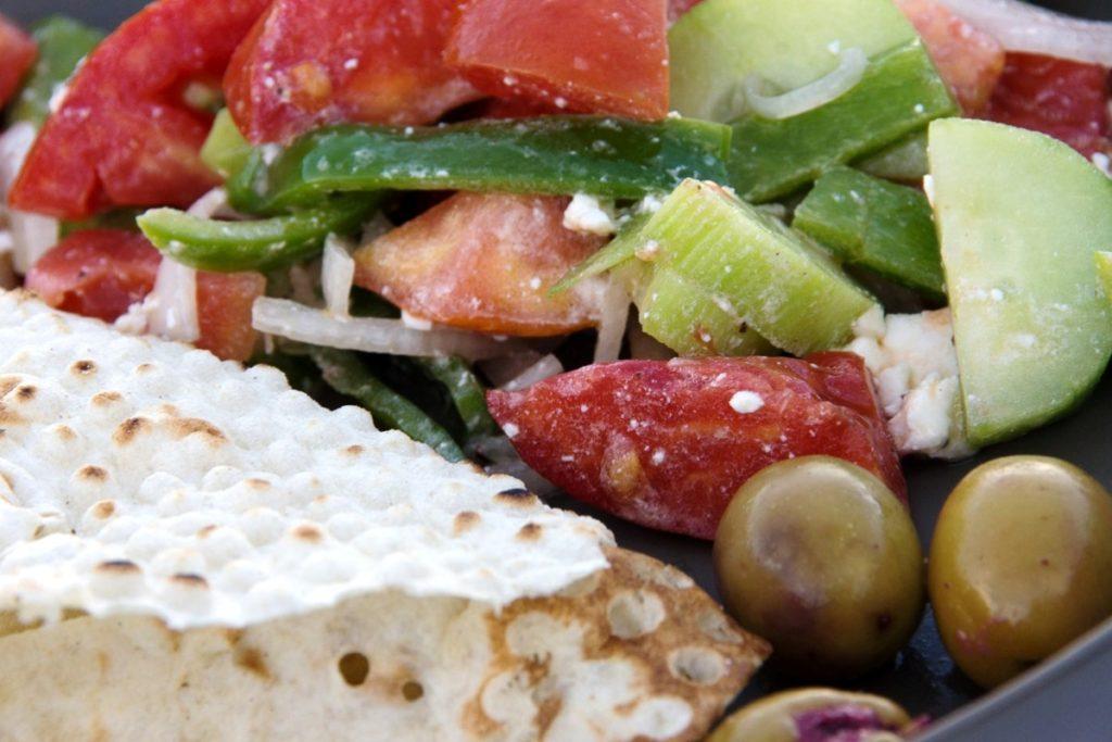 Camping Rezepte Salat