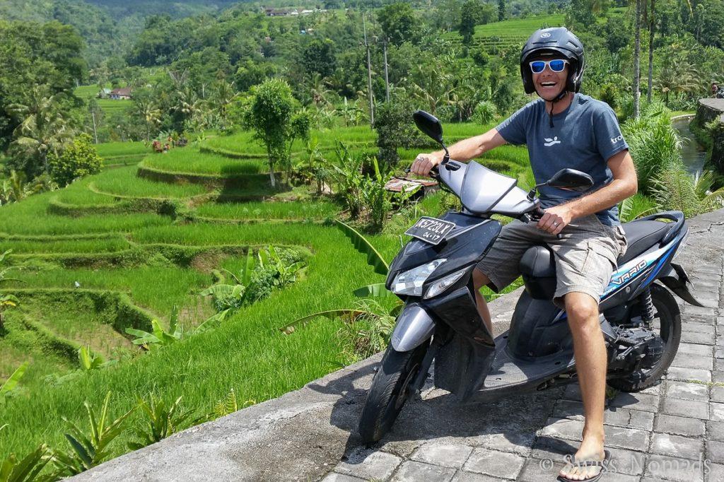 Tour mit Roller in Bali Indonesien