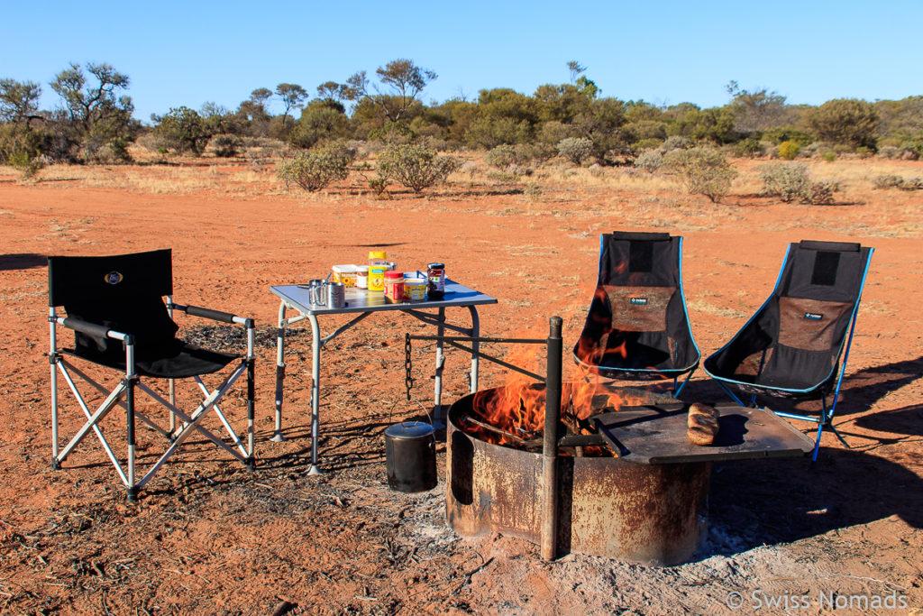 Camping Rezepte Baked Potatoe