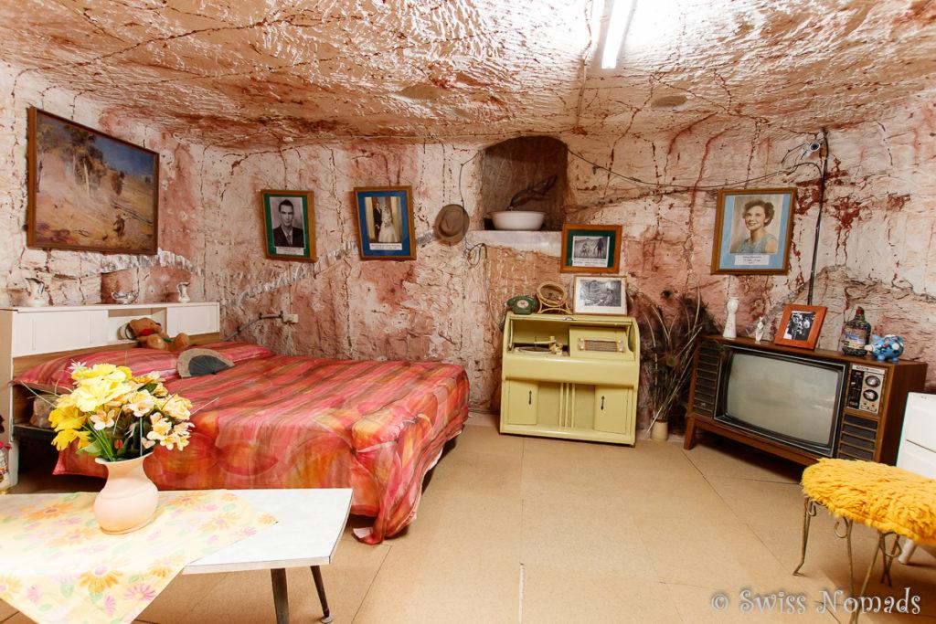 Untergrundwohnung in Coober Pedy