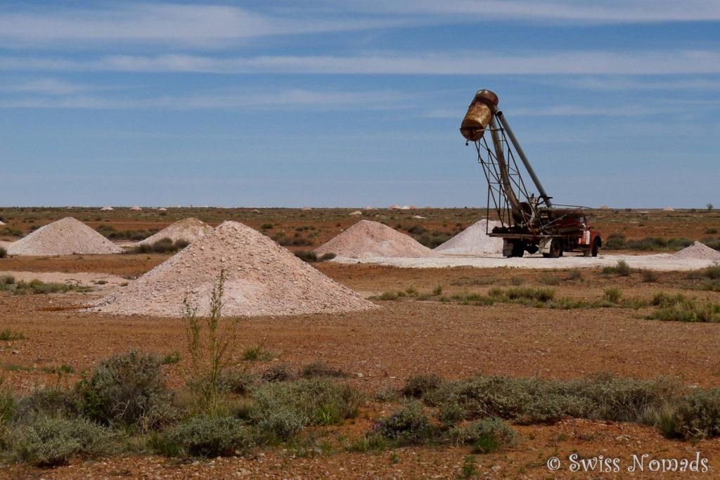 Opal Minen in Coober Pedy