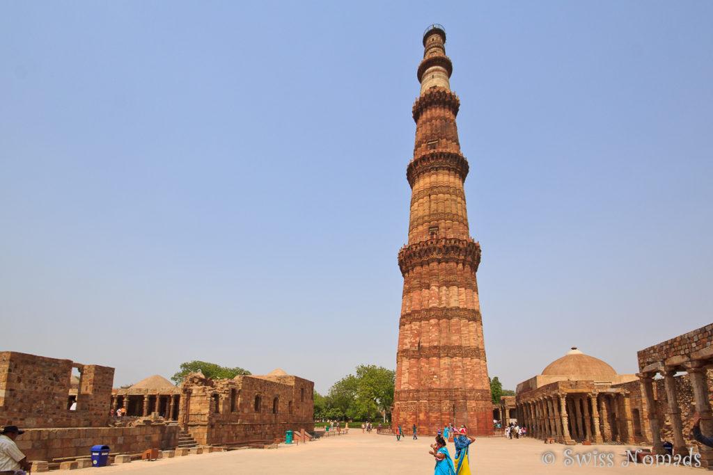 Der Siegesturm Qutb Minar
