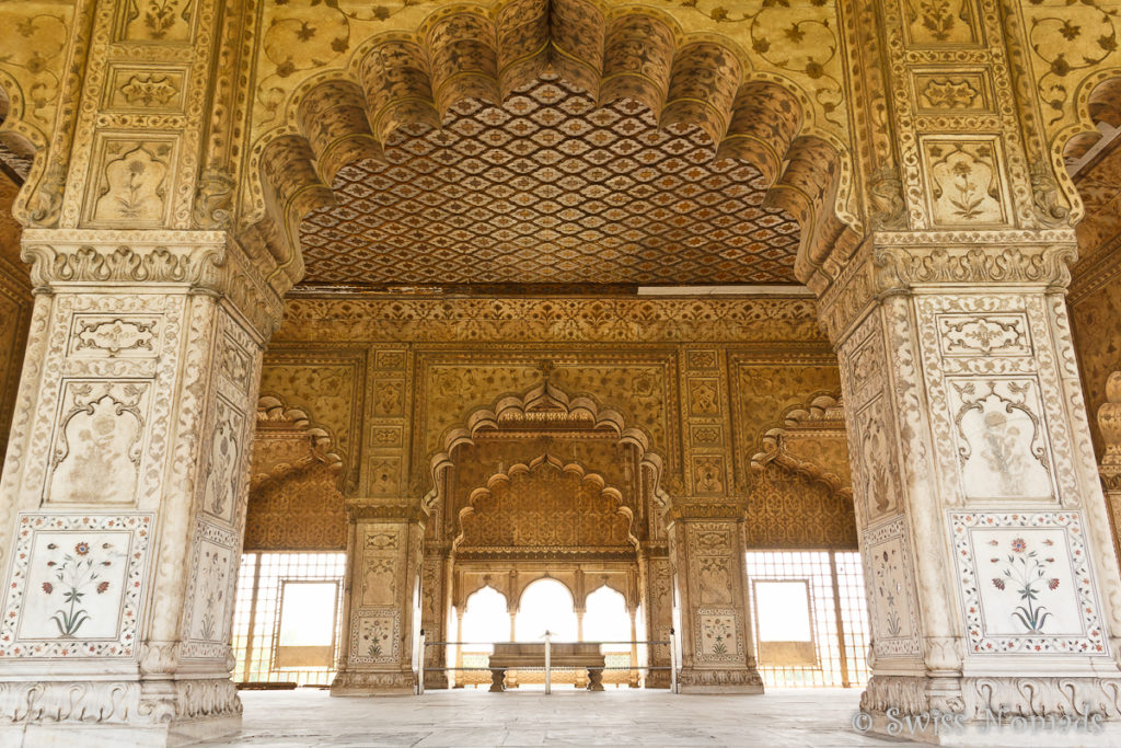 Diwan i Khas im Red Fort von Delhi