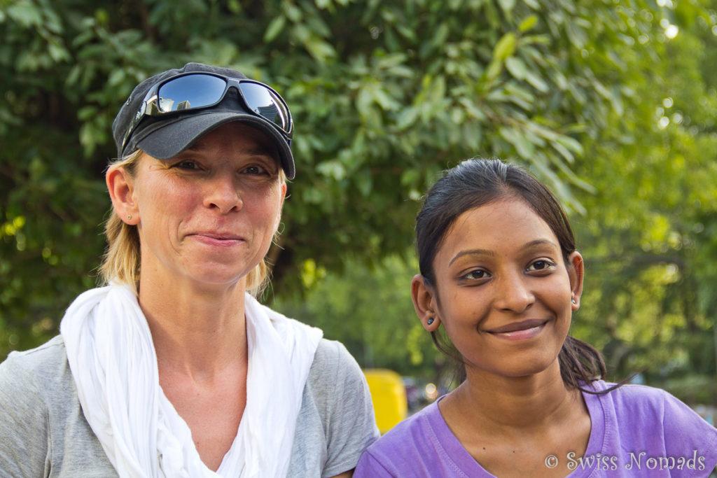 Die Inder lieben es mit uns fotografiert zu werden