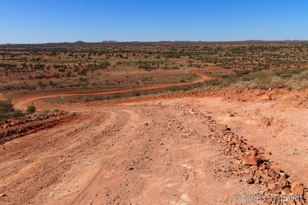Roadtrip von Alice Springs nach Adelaide auf Schotterpisten