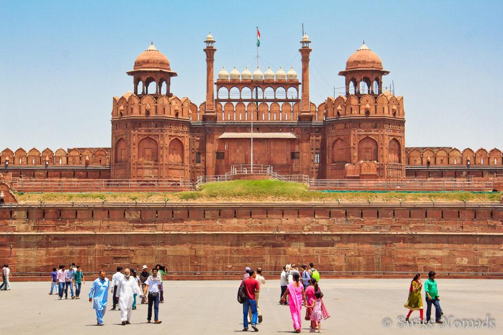 Die Sehenswürdigkeiten in Delhi