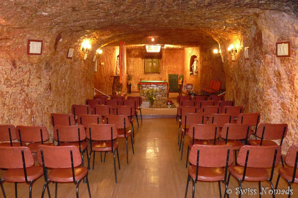 Untergrund Kirche Coober Pedy