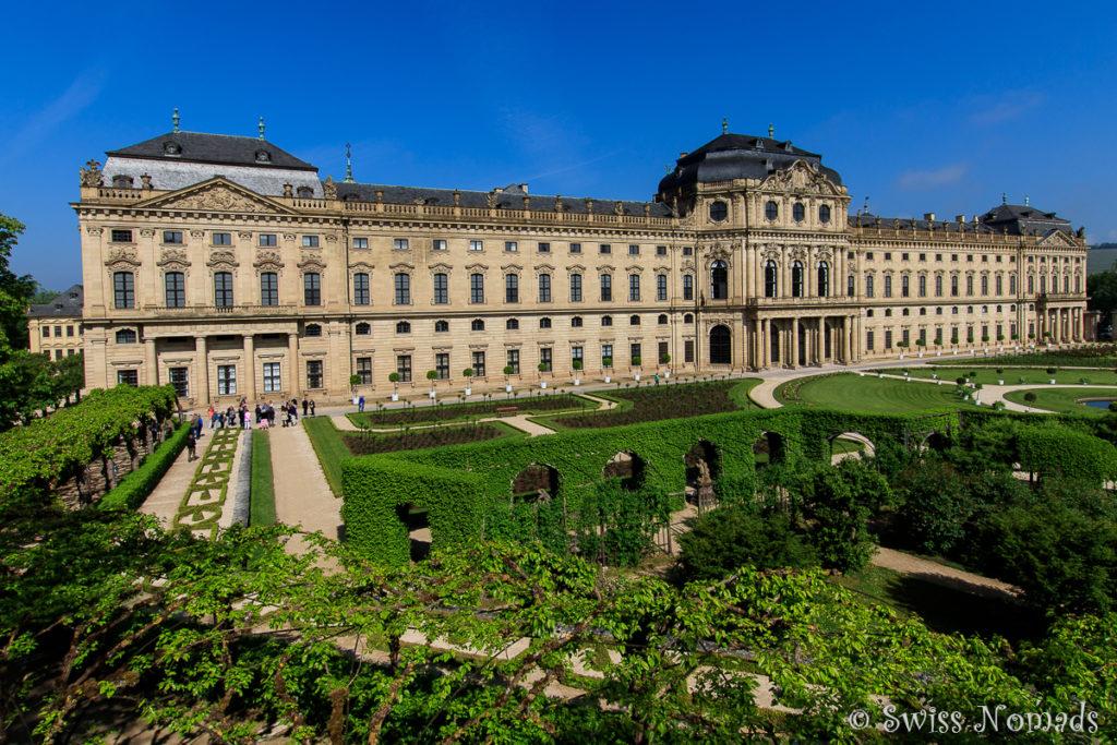 Residenz Würzburg in Deutschland