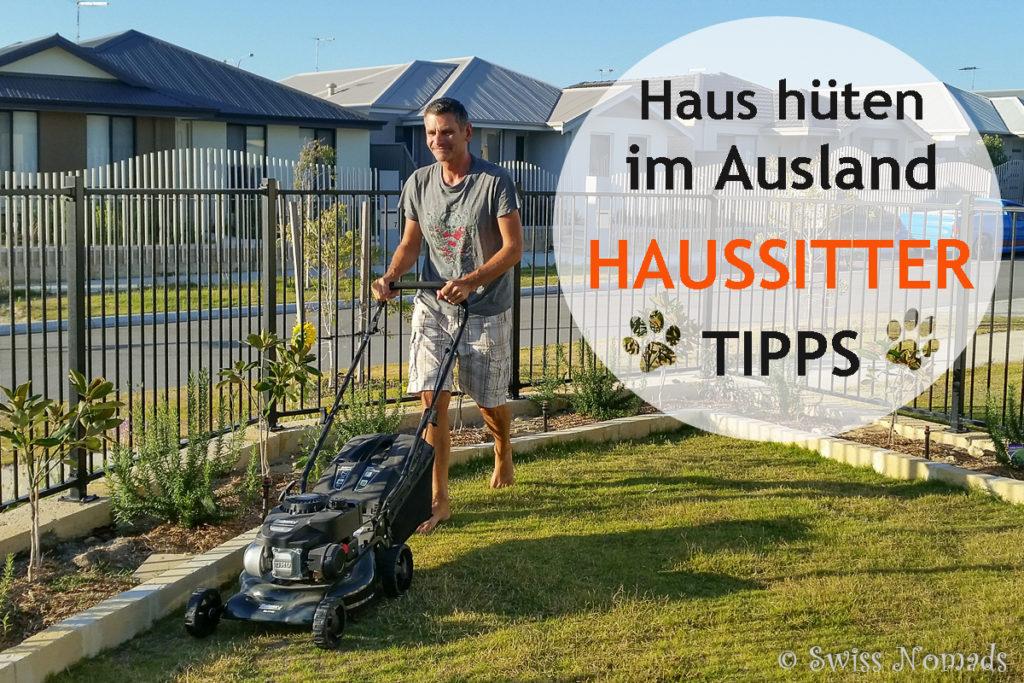 Haussitting Tipps