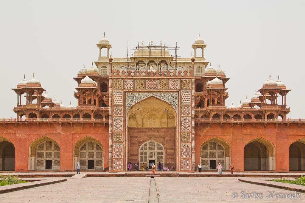 Das Akbar Mausoleum in Sikandra