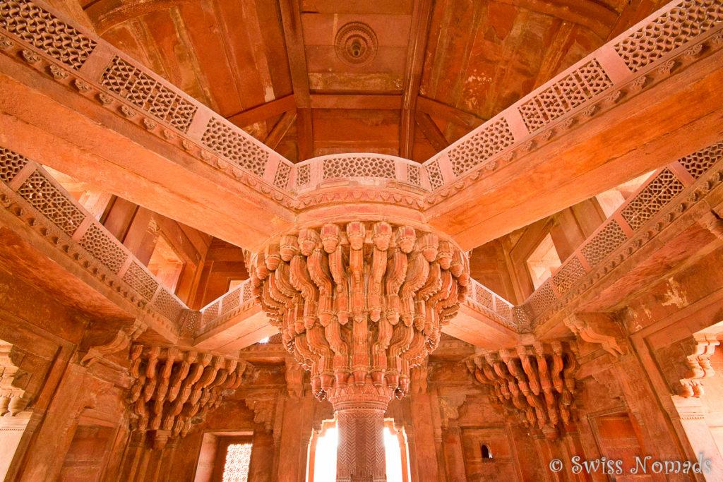 Diwan i Khas der Palastanlage von Fatehpur Sikri