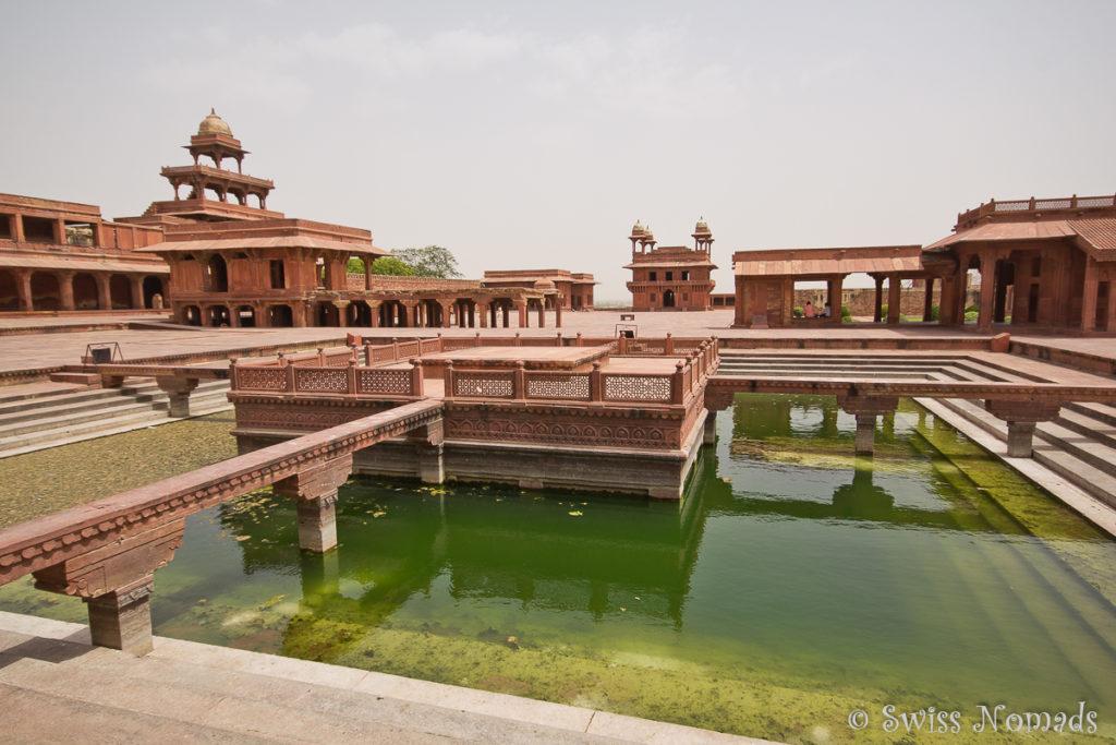 Die Palastanlage von Fatehpur Sikri