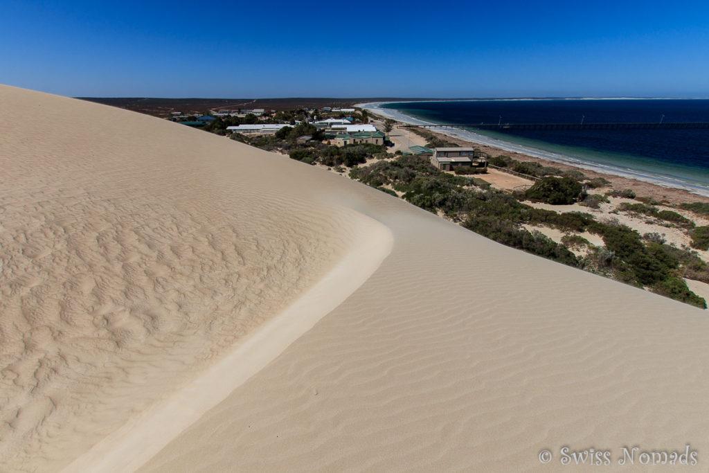 Die riesigen Sanddünen in der Fowlers Bay