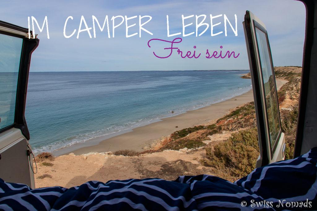 Im Camper leben in Australien