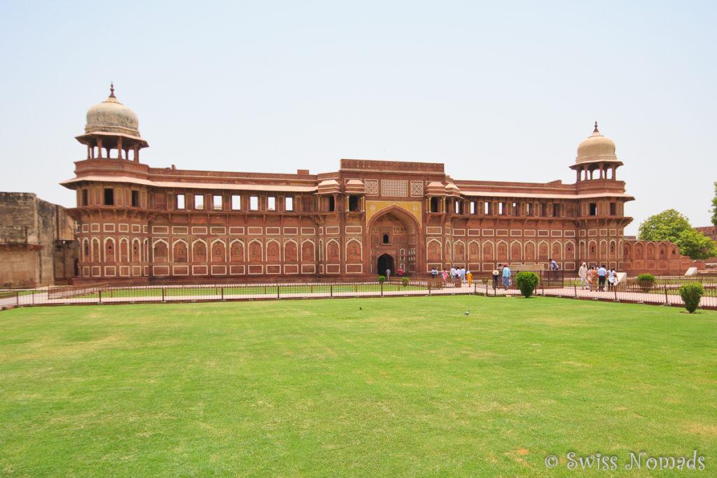 Jahangiri Mahal im Red Fort von Agra