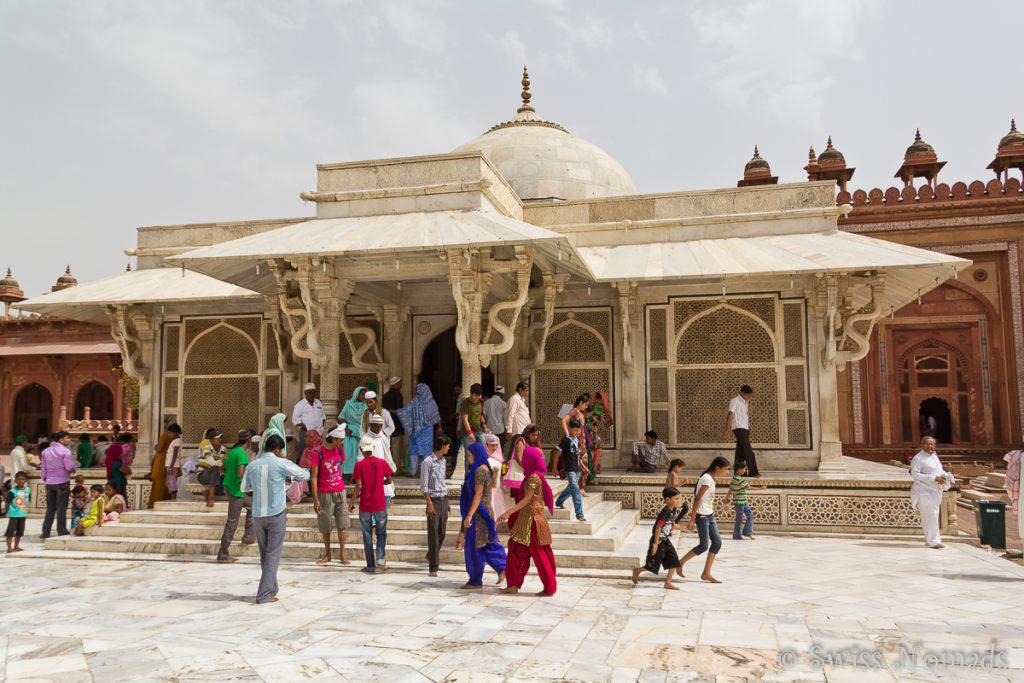 Das Mausoleum in der Jama Masjid bei Fatehpur Sikri