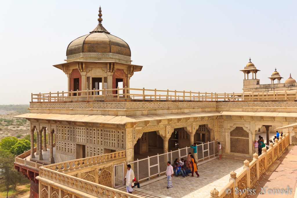 Das Musamman Burj im Red Fort von Agra