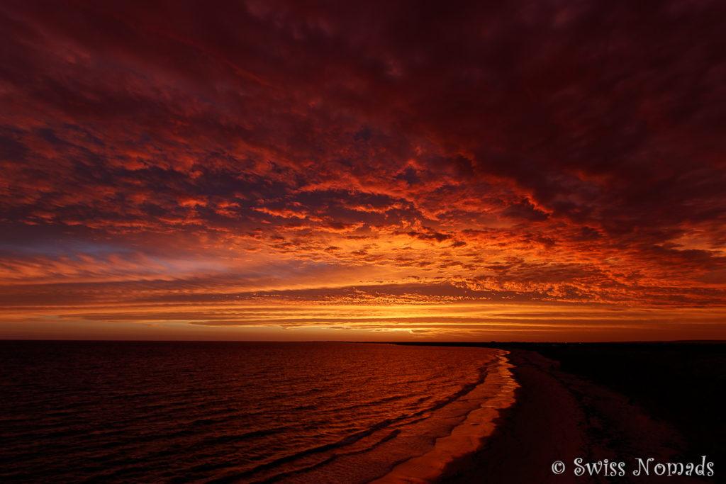 Sonnenuntergang am Point Gibbon