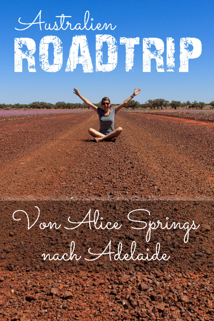 Roadtrip von Alice Springs nach Adelaide in AUstralien