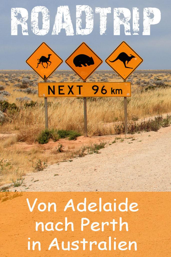 Roadtrip von Adelaide nach Perth in Australien