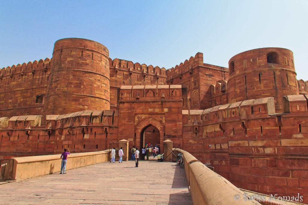 Red Fort Sehenswürdigkeiten in Agra