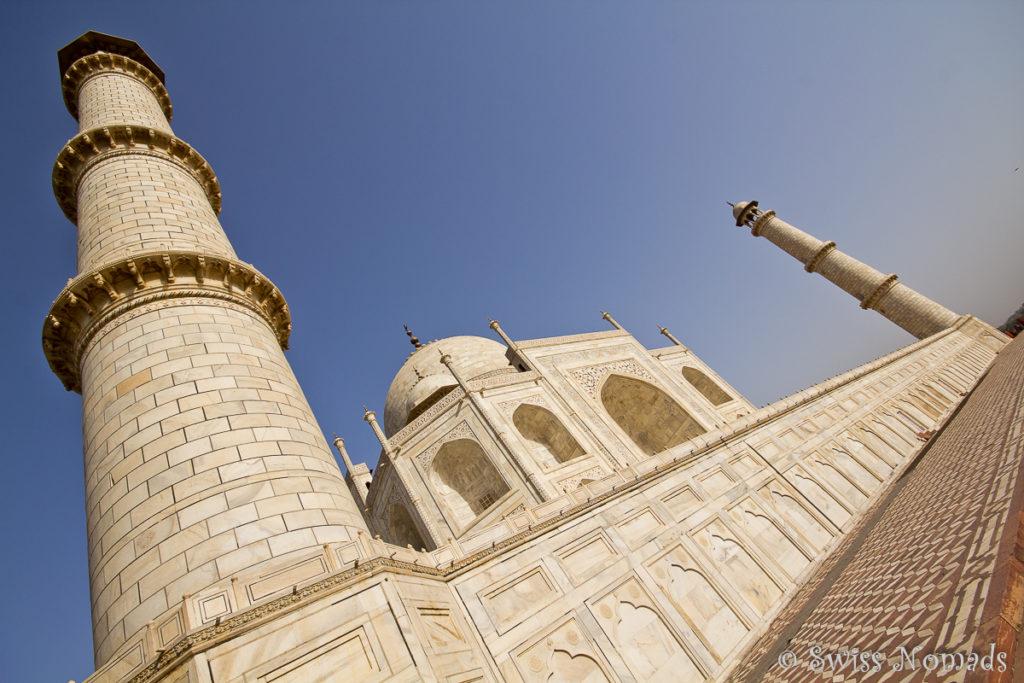 Das Taj Mahal aus einer ganz anderen Perspektive aus gesehen