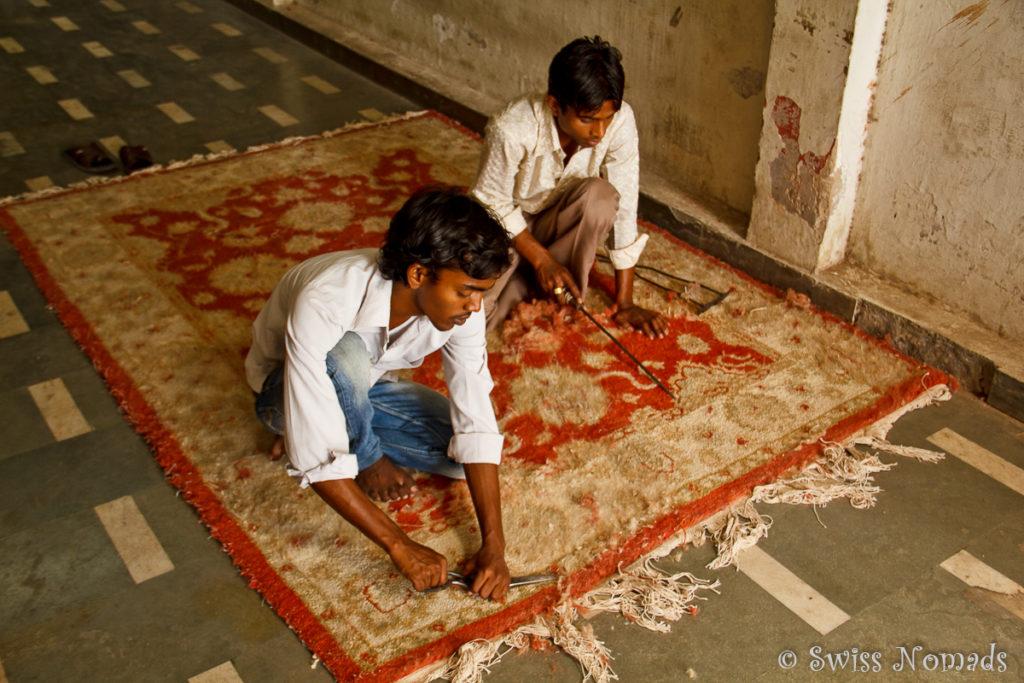 Teppich Verarbeitung Agra