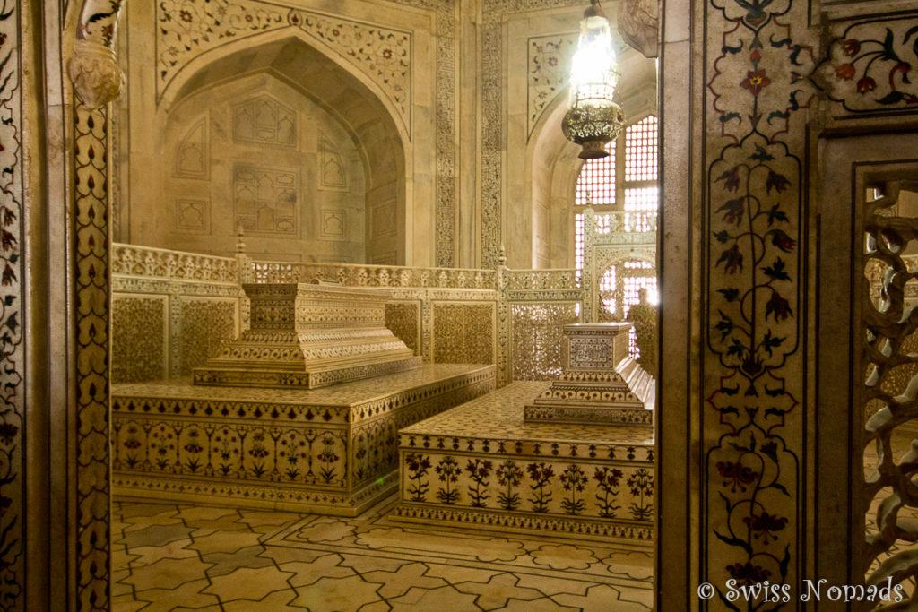 Der Zenotaph von Mumtaz Mahal im Taj Mahal