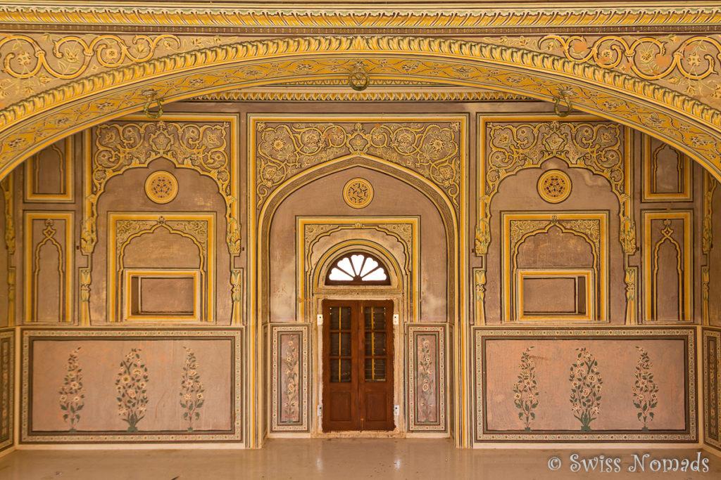 Das wunderschöne bemalte Nawalgarh Fort