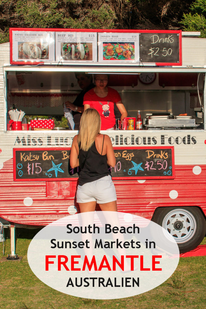 South Beach Sunset Markets in Fremantle