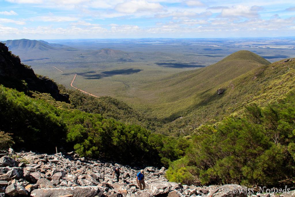 Aussicht Toolbrunup Peak im Stirling Range Nationalpark