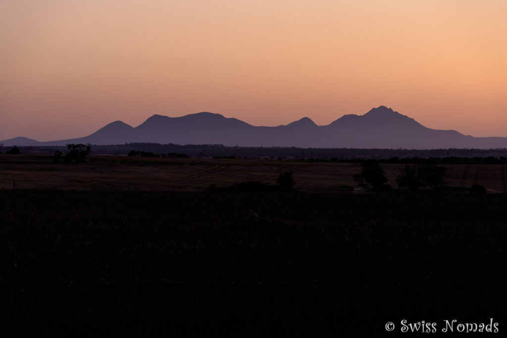 Sonnenuntergang Stirling Ranges