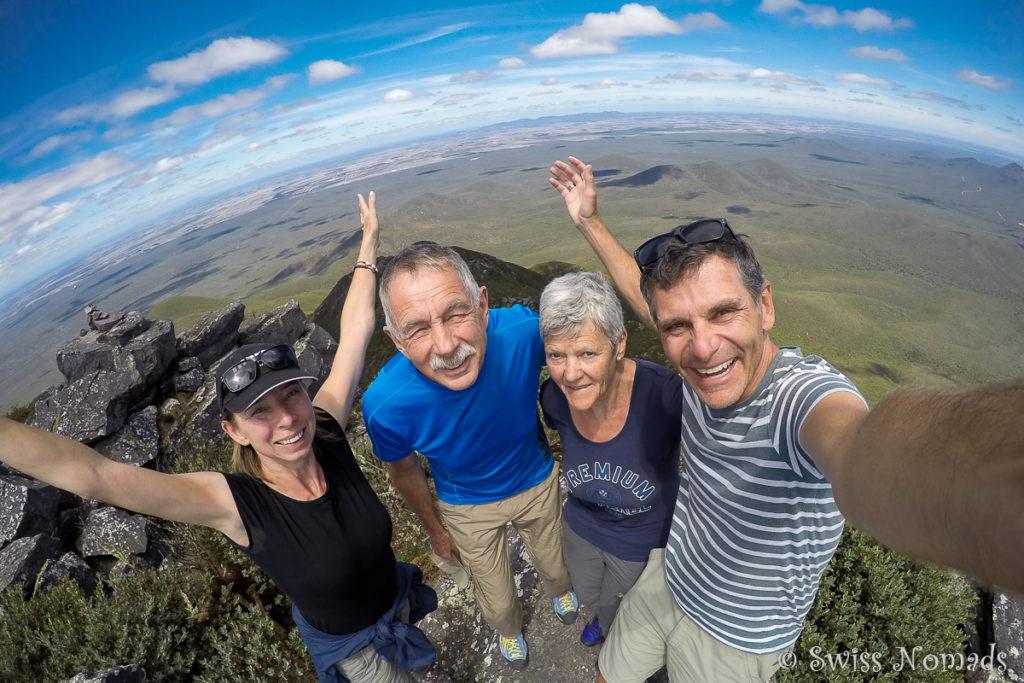 Toolbrunup Peak Summit im Stirling Range Nationalpark