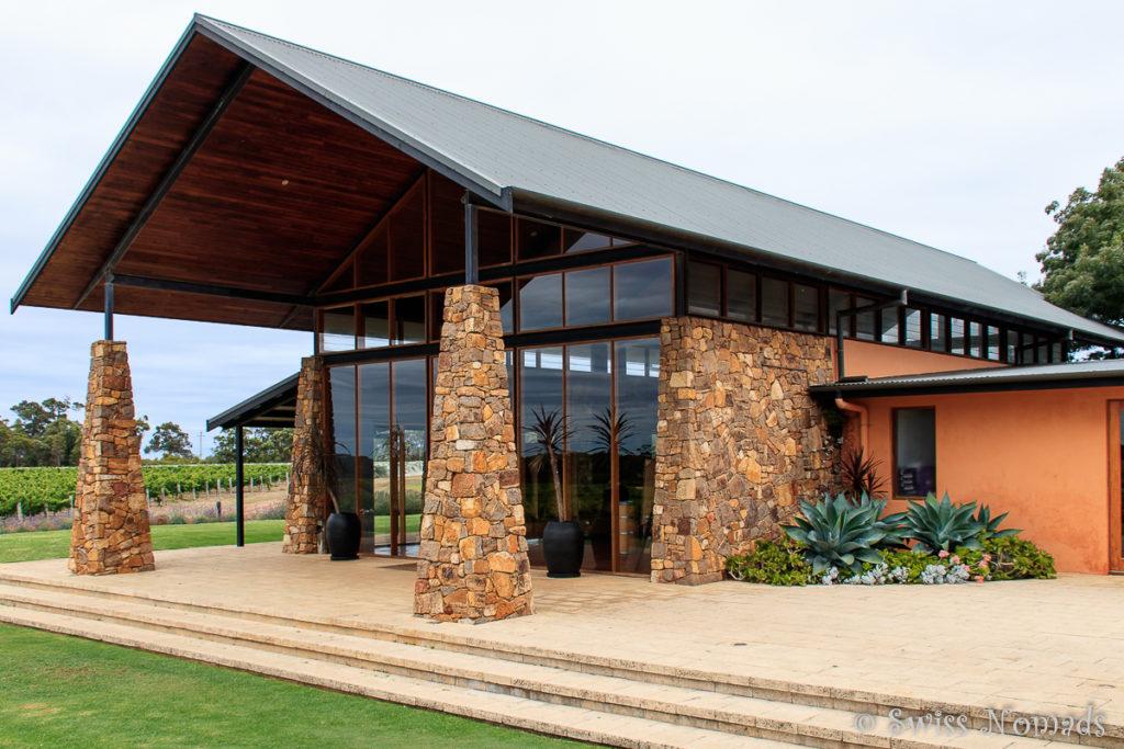 Die moderne Watershed Weinkellerei
