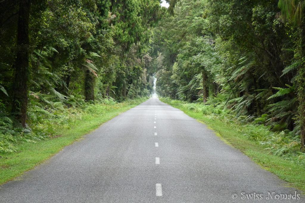 Die Landschaften Neuseelands sind atemberaubend schön