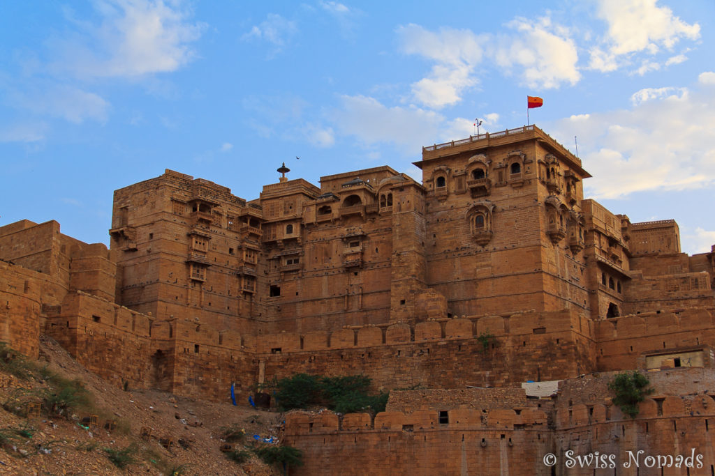 Abendstimmung in Jaisalmer in Rajasthan