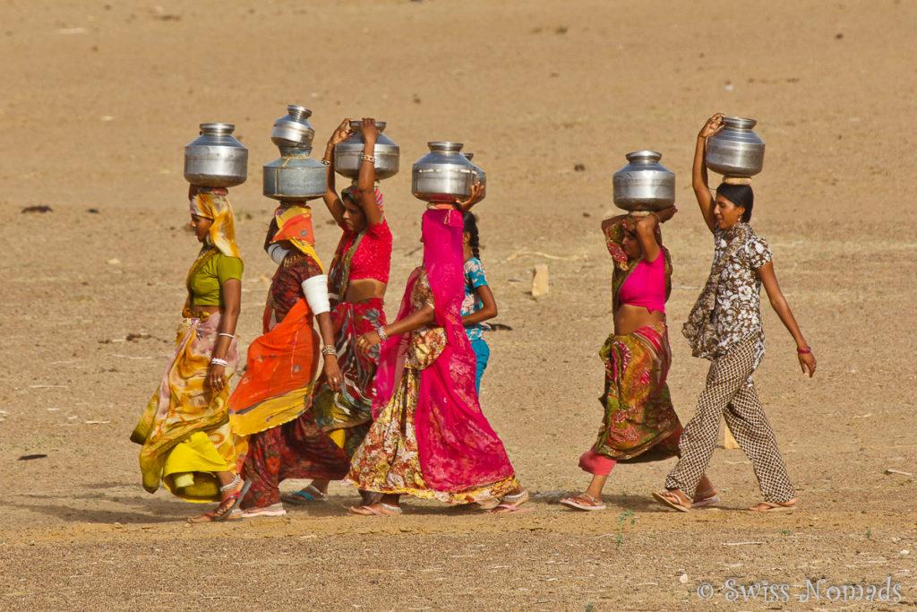 Bewohner der Thar Wüste in Rajasthan