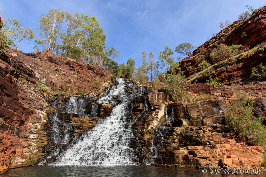Fortescue Wasserfall im Karijini Nationalpark