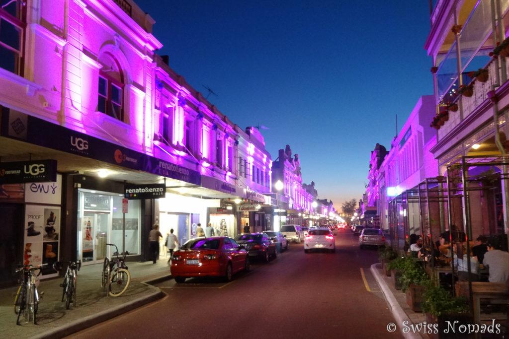 Die High Street in Fremantle