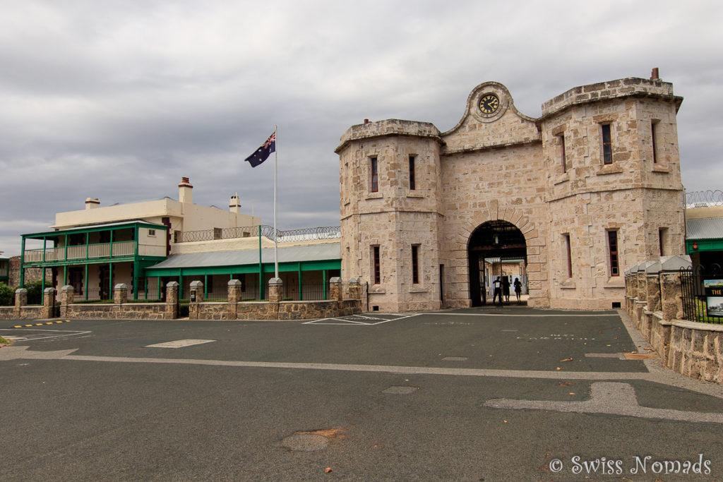 Das Gefängnisvon Fremantle ist ein eindrücklicher Bau